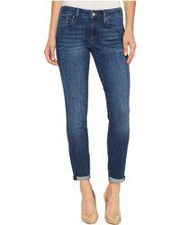 Mavi Jeans - Alexa Mid-rise Skinny Ankle In Dark Indigo Tribeca - Lyst