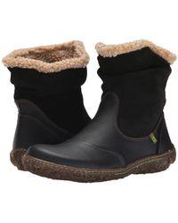 El Naturalista - Nido Women's Mid Boots In Black - Lyst