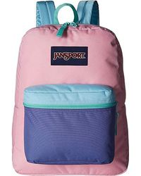 9be9a2a61 Jansport - Exposed (prism Pink/cascade) Backpack Bags - Lyst