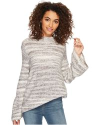 Kensie - Space Dye Punk Yarn Sweater Ksdk5673 - Lyst
