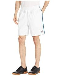 e68b2a2cb79a Fila - Heritage Shorts (white/turkish Tile Blue/navy) Shorts - Lyst