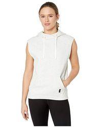 040ea1ab1461d Combat Legacy Sleeveless Hoodie (white Melange) Clothing