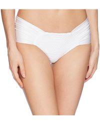 Luli Fama - El Carnaval Scrunch Brazilian Ruched Back Bikini Bottom - Lyst