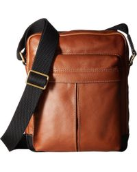 Fossil | Defender Small Messenger | Lyst