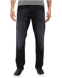 Mavi Jeans | Myles Casual Straight In Ink Brushed Williamsburg | Lyst