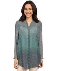 NIC+ZOE - Ombre Dots Tunic - Lyst