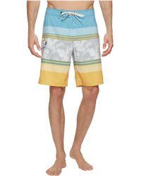 """Vans - Bonsai Stripe Stretch Boardshorts 20"""" - Lyst"""