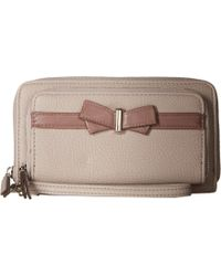 Jessica Simpson - Linea Double Zip Wallet - Lyst