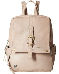 Born - Savor Bronco Leather Backpack - Lyst