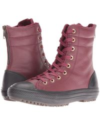 b75fb275e40b Converse - Chuck Taylor® All Star® Leather + Fur Hi-rise Boot Xhi