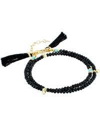 Shashi | Eliza Wrap Bracelet | Lyst