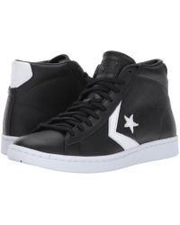 Converse | Pro Leather Lp - Mid | Lyst