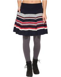 Smartwool - Cascade Valley Stripe Skater Skirt - Lyst