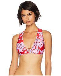 7888f3c155003 Trina Turk - Bali Blossoms Halter Top (red) Swimwear - Lyst