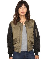 Members Only - Diamond Quilted Bomber Jacket - Lyst