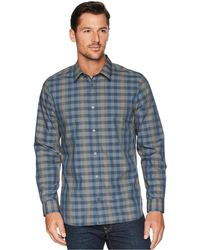 Calvin Klein - Heather Melange Plaid Sport Shirt - Lyst