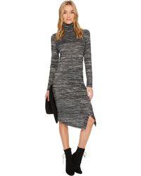Kensie - Drapey Space Dye Dress Ks0k8152 - Lyst