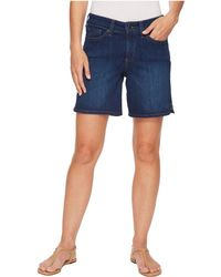NYDJ - Jenna Shorts W/ Mini Side Slit In Cooper - Lyst