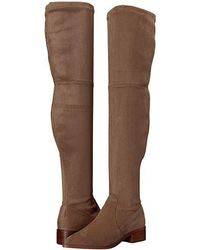 Steve Madden - Jestik Over The Knee Boot (taupe) Pull-on Boots - Lyst