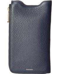 Skagen - Lilli Iphone 7 Wallet - Lyst