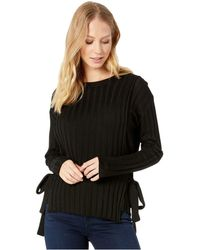 Moon River - Rib Knit Top - Lyst