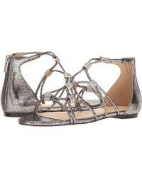 96c299d3fa29 Ivanka Trump - Chaley 2 Flat Strappy Sandals - Lyst
