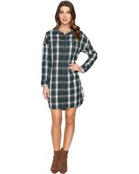 Alternative Apparel - Yarn-dye Flannel Timberwood Shirtdress - Lyst