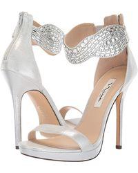 b94b3598f7c Fayth Metallic Suede Dress Sandals.  99. Nina · Nina - Fayth - Lyst