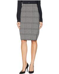 Chaps - Cotton Blend Stripe Skirt - Lyst