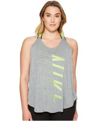Nike - Breathe Training Tank (size 1x-3x) - Lyst