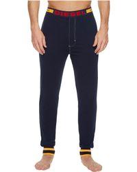 DIESEL - Julio Sleep Pants Stripe Waist Papu - Lyst