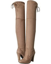 5252dde97a34 Steve Madden - Gorgeous Knee Boot (taupe) Dress Pull-on Boots - Lyst