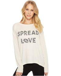 Pj Salvage - Spread Love Sweater - Lyst