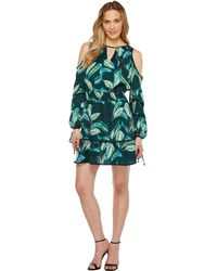Adelyn Rae - Havana Woven Printed Shirtdress - Lyst
