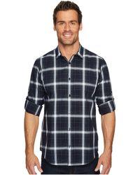 Calvin Klein - Blown-up Plaid Roll-up Button Down Shirt - Lyst