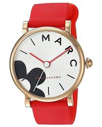Marc By Marc Jacobs - Marc Jacobs Classic - Mj1623 (red) Watches - Lyst