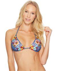 Nanette Lepore - Dazed Denim Vixen Bikini Top - Lyst