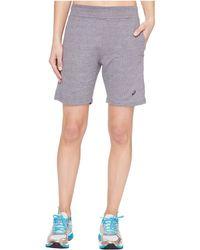 "Asics - Abby 7"" Long Shorts - Lyst"