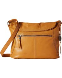 The Sak - Esperato Flap Hobo Convertible Cross Body Bag - Lyst