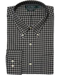 Lauren by Ralph Lauren - Non-iron Classic Fit Dress Shirt - Lyst