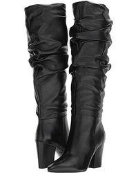 Nine West Scastien (black Leather) Boots
