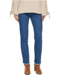 See By Chloé - Fringed Jeans - Lyst