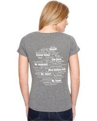 Spyder - Jersey Scoop Neck Shirt - Lyst