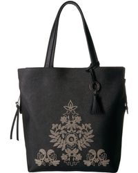Badgley Mischka | Cage Tote | Lyst
