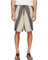 Vivienne Westwood - Linen Stripe Samurai Shorts - Lyst