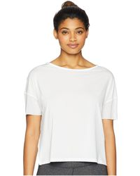 Reebok - Perforated Tee - Lyst