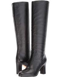 Via Spiga Soho (black Glove Calf) Dress Zip Boots