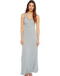 Alternative Apparel - Eco Jersey Yarn-dye Stripe Double Scoop Tank Dress - Lyst