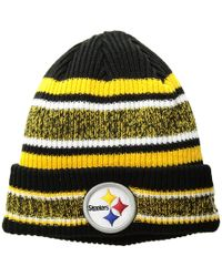 The Sweater Beanie (for Men).  7. Sierra Trading Post · KTZ - Pittsburgh  Steelers Vintage Stripe - Lyst b1608d022