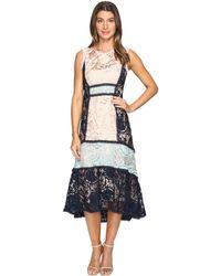 Nanette Lepore   Baroque Lace Dress   Lyst